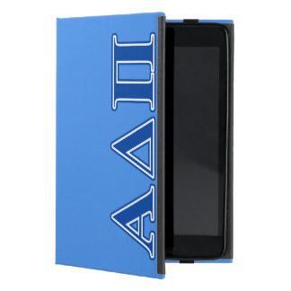 Alpha Delta Pi Dark Blue Letters Case For iPad Mini