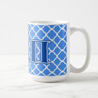 Alpha Delta Pi Dark Blue Letters Coffee Mug
