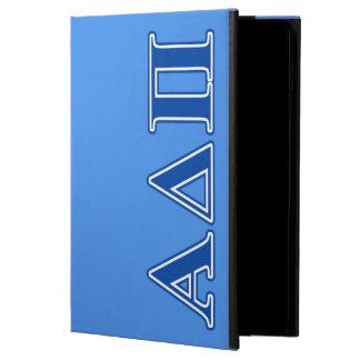 Alpha Delta Pi Dark Blue Letters Cover For iPad Air