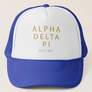 Alpha Delta Pi   Est. 1851 Trucker Hat