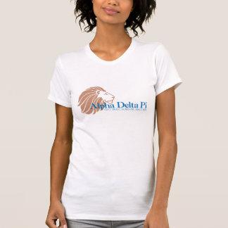 Alpha Delta Pi Gold Lion and Blue Name T-Shirt