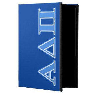 Alpha Delta Pi Light Blue Letters iPad Air Case