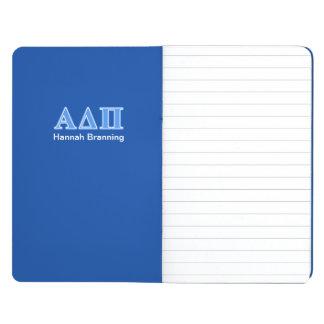 Alpha Delta Pi Light Blue Letters Journal