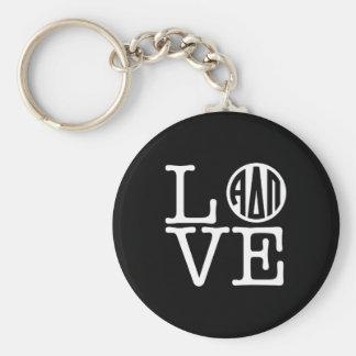 Alpha Delta Pi   Love Key Ring
