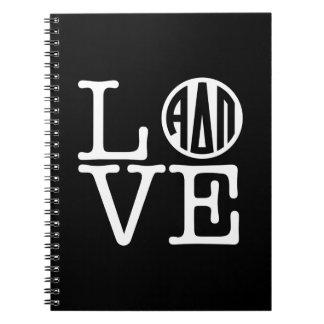 Alpha Delta Pi | Love Notebook