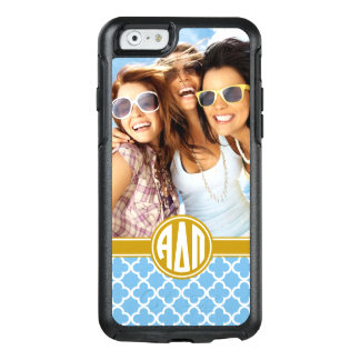Alpha Delta Pi | Monogram and Photo OtterBox iPhone 6/6s Case