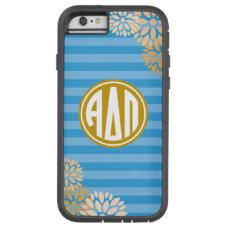 Alpha Delta Pi | Monogram Stripe Pattern Tough Xtreme iPhone 6 Case