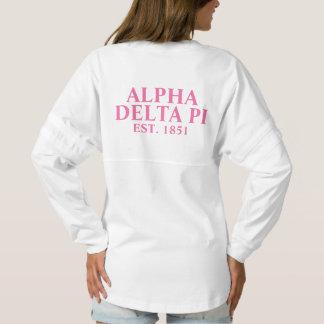Alpha Delta Pi Pink Letters Spirit Jersey