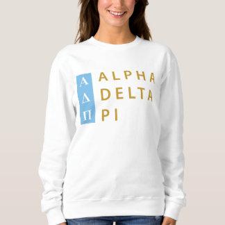 Alpha Delta Pi | Stacked Logo Sweatshirt