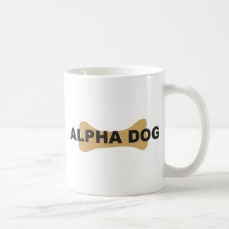 Alpha dog coffee mug