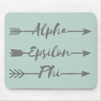 Alpha Epsilon Phi | Arrows Mouse Mat