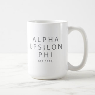 Alpha Epsilon Phi | Est. 1909 Coffee Mug