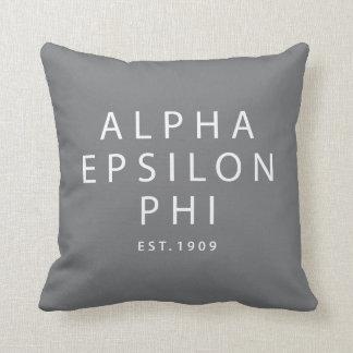 Alpha Epsilon Phi | Est. 1909 Cushion