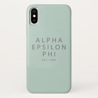 Alpha Epsilon Phi | Est. 1909 iPhone X Case