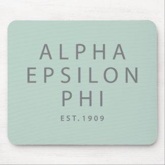 Alpha Epsilon Phi | Est. 1909 Mouse Mat