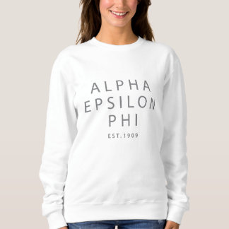 Alpha Epsilon Phi | Est. 1909 Sweatshirt