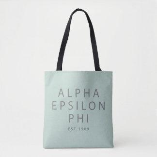 Alpha Epsilon Phi | Est. 1909 Tote Bag