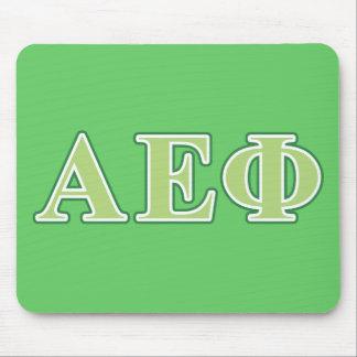 Alpha Epsilon Phi Green Letters 2 Mouse Mat