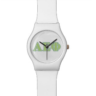 Alpha Epsilon Phi Green Letters 2 Watch