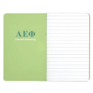 Alpha Epsilon Phi Green Letters 3 Journal