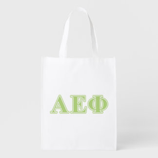 Alpha Epsilon Phi Green Letters