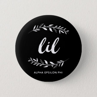 Alpha Epsilon Phi | Lil Wreath 6 Cm Round Badge