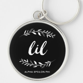 Alpha Epsilon Phi | Lil Wreath Key Ring
