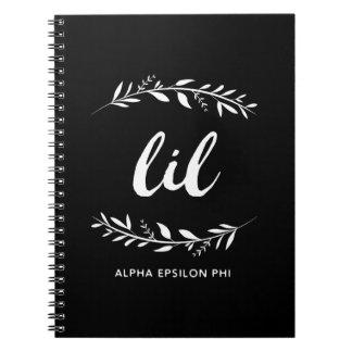 Alpha Epsilon Phi | Lil Wreath Notebook