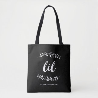 Alpha Epsilon Phi | Lil Wreath Tote Bag