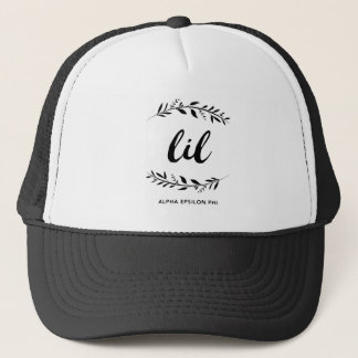 Alpha Epsilon Phi | Lil Wreath Trucker Hat