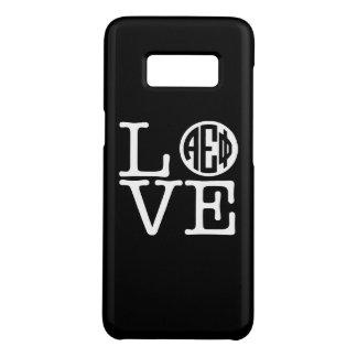 Alpha Epsilon Phi | Love Case-Mate Samsung Galaxy S8 Case