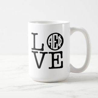 Alpha Epsilon Phi | Love Coffee Mug