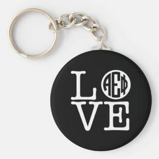 Alpha Epsilon Phi | Love Key Ring