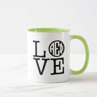 Alpha Epsilon Phi | Love Mug