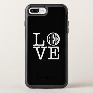 Alpha Epsilon Phi | Love OtterBox Symmetry iPhone 8 Plus/7 Plus Case
