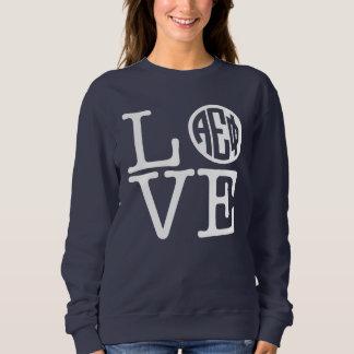 Alpha Epsilon Phi | Love Sweatshirt