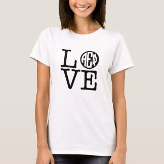 Alpha Epsilon Phi | Love T-Shirt