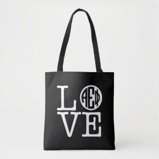 Alpha Epsilon Phi | Love Tote Bag