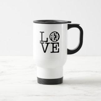 Alpha Epsilon Phi | Love Travel Mug