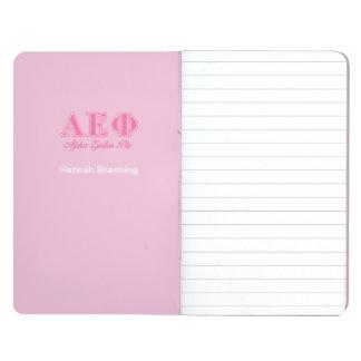 Alpha Epsilon Phi Pink Letters Journal