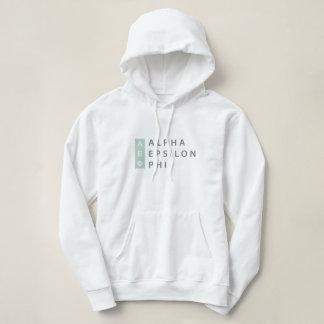 Alpha Epsilon Phi | Stacked Logo Hoodie