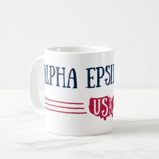 Alpha Epsilon Phi - USA Coffee Mug