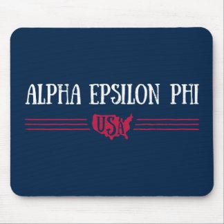 Alpha Epsilon Phi - USA Mouse Mat