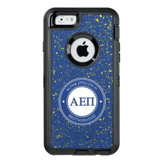 Alpha Epsilon Pi   Badge OtterBox Defender iPhone Case