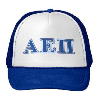 Alpha Epsilon Pi Blue Letters Cap