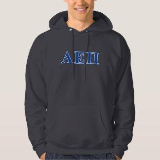 Alpha Epsilon Pi Blue Letters Hoodie