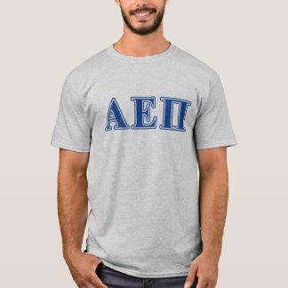 Alpha Epsilon Pi Blue Letters T-Shirt