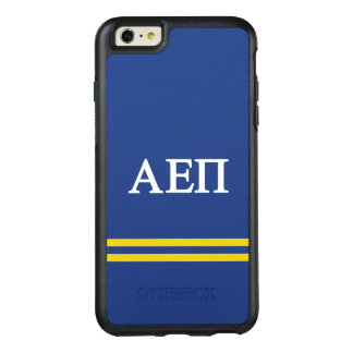 Alpha Epsilon Pi | Sport Stripe OtterBox iPhone 6/6s Plus Case