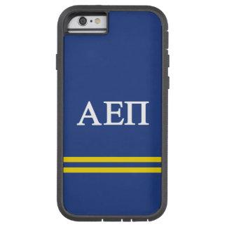 Alpha Epsilon Pi | Sport Stripe Tough Xtreme iPhone 6 Case