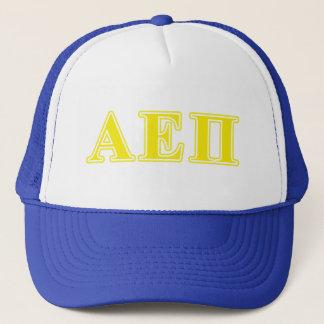 Alpha Epsilon Pi Yellow Letters Cap